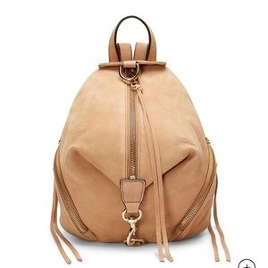NWT Rebecca Minkoff Julian Backpack dessert tan